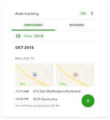 Irs Mileage Rates Calculator App Tracker Quickbooks