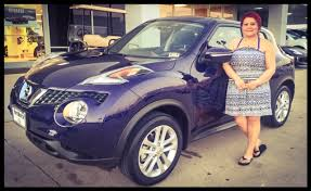 ms segura lives in arlington but found the best deal best service and perfect nissan juke at fort worth nissan thank you for being part of our nissan