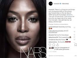 naomi cbell has been named as the face of nars cosmetics for spring 2019