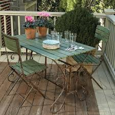 eclectic outdoor furniture. Perfect Eclectic Left Bank Cafe Table Amp Chairs Eclectic Patio Furniture And  For Outdoor I
