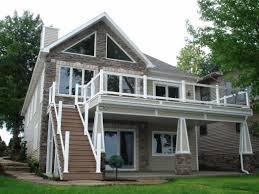 lake house plans sloping lots small narrow sloped lot inspirational