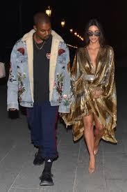 gucci jean jacket. kanye west wears a gucci embroidered denim jacket jean