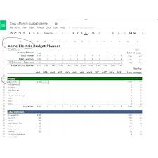 Project On Family Budget For A Month Project Budget Forecast Template Excel