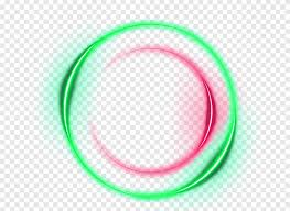 marco redondo verde y rojo llevado