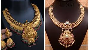 South Indian Jewellery Latest Designs Latest South Indian Gold Necklace Designs