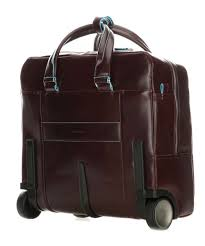 piquadro blue square rolling briefcase 15 6 mahogany bv4729b2 mo 01 preview