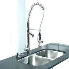 outdoor sink powered by a water hose top fancy kitchen sprayer extension