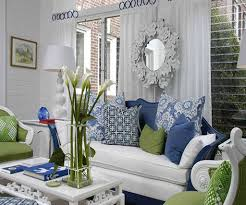 Innovative Blue And Green Living Room Brilliant Green And Blue ...