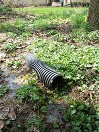 this is the for a trench drain since the ground slopes and the trench