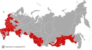Президентские выборы в России Википедия 1996 russian presidential election s first round map by federal subjects svg