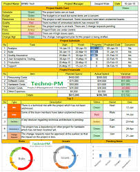 format of a management report weekly status report format excel download project