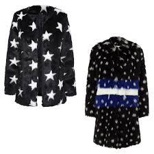 make sure your uniform has a personal touch a crazy faux fur coat