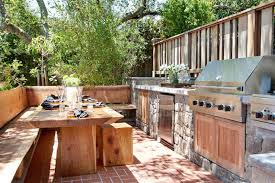 Garden kitchen with lovable decor for kitchen decorating ideas 20