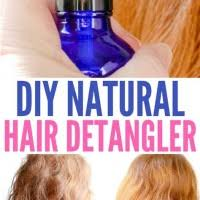 diy hair detangler with coconut oil