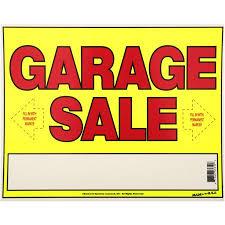 Make A For Sale Sign Sunburst Systems 11x14 Garage Sale Sign