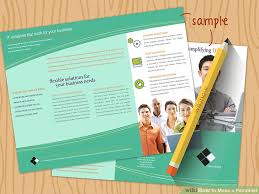 making pamphlets online for free how to make a pamphlet with pictures wikihow