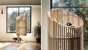 stylish cat furniture. Designer Yoh Komiyama Has Designed NEKO, A Modern Cat Tree That Offers Natural Wood Stylish Furniture