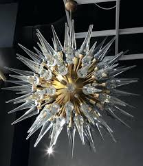 sputnik style chandelier exceptional huge glass metal and brass chandelier in the style of ca light sputnik style chandelier