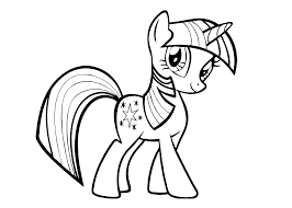 Small Picture My Little Pony Twilight Sparkl coloring pages for kids printable