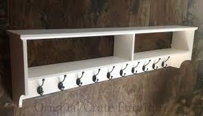 Coat Rack Shelf Adorable Wall Mounted Coat Racks With Shelf Foter