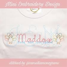 Mini Turkey Embroidery Design Mini Sketch Girl Turkey Embroidery Design Vintage Stitch