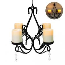 rustic dining room chandeliers fake candle chandelier com linear pendant faux pillar real wakrays