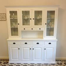 kitchen hutch lilyfield life white painted