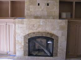 large size of tumbled stone tile fireplace surround how to cover a tile fireplace with stone