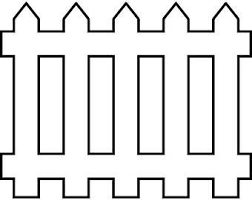 fences clip art. Simple Art White Picket Fence 1 Wooden House Home Wood Fencing Protection Security  Design Element LogoSVG EPS PNG Clipart Vector Cricut Cut Cutting On Fences Clip Art E