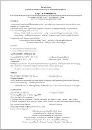 Esthetician Resume Examples Simple 28 Last Esthetician Resume Examples Qo A28 Resume Samples