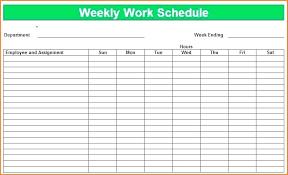 Class Schedule Excel Class Schedule Templates Discopolis Club