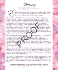 Effie Ferguson Program Pages 1 - 8 - Text Version | AnyFlip
