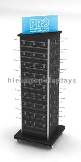 Retail Product Display Stands Retail Store Tower Slatwall Display Stands Fixture For Key Chains 87
