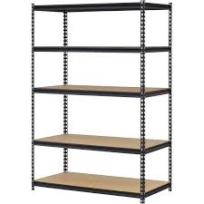 Adjustable Width Shelving Honey Can Do Urban Shelving 5 Tier Adjustable Storage Shelving