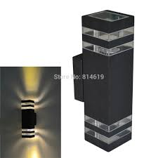 aliexpress modern outdoor wall lighting light with sensor fixtures lamp unique design star shaped box