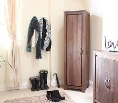 strathmore solid walnut furniture shoe cupboard cabinet. linea solid walnut furniture shoe cupboard cabinet tall hallway storage unit strathmore o
