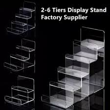 Acrylic Tiered Display Stands Wholesale Multitier Acrylic Wallet Display Stand Buy Display 94