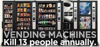 How Many People Die From Vending Machines Amazing Quiz Guess Which Way You're More Likely To Die Vending Machine