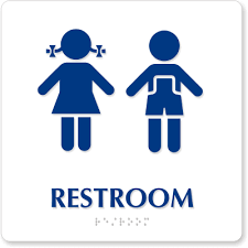 bathroom signs clip art. Perfect Signs Bathroom Signs Clip Art  ClipArt Best For R