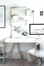 Small White Desk Simple White Desk With Drawer Bedroom Computer Desk ...