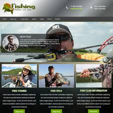 Download Free Dd Fishing Joomla Template