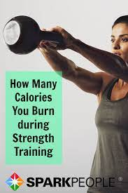 many calories does strength training