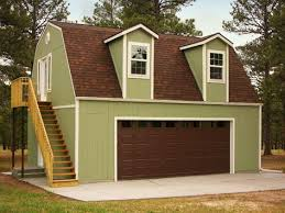 tiny house with garage. Premier Barn Garage - Tuff Shed Tiny House With