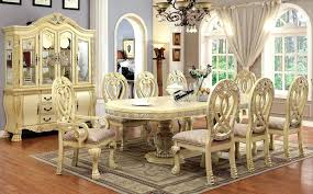 dining tables antique white round dining table room sets furniture