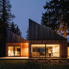 architecture design house. Angular Roofs Funnel Daylight Into Coastal Summer House Inspired By Traditional Estonian Buildings Architecture Design