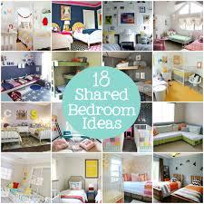 kids bedroom ideas for sharing. 18 Shared Bedroom Ideas For Kids Via Lilblueboo.com Sharing
