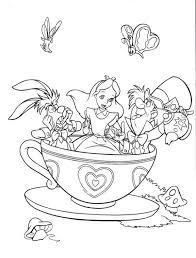 Alice In Wonderland Fantasyland Mad Tea Party Alice In Wonderland