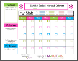 fitness timetable template calendar for workouts most popular workout programs