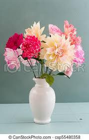 Peony Paper Flower Crepe Paper Flower Bouquet