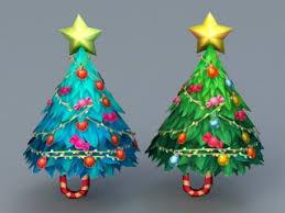Christmas Tree 3d Model Free Download Cadnav Com